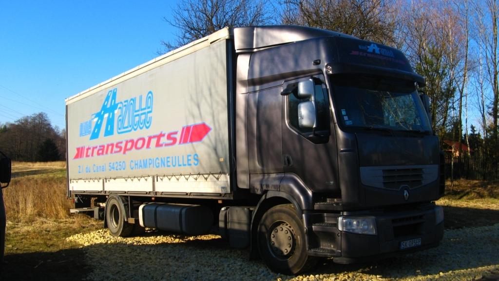 renault ciężarowy 8t